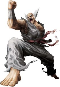 Heihachi portrait street fighter x tekken