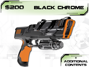 Tek Recon Black Chrome Hammerhead