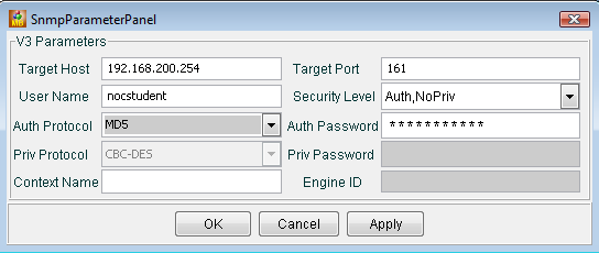 File:MibBrowser setting SNMPv3 parameters.png