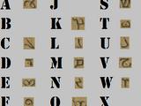 Old Alphabet