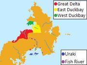 Distribution of West Ulitan