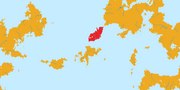 Ular on the Teles map (red marked)