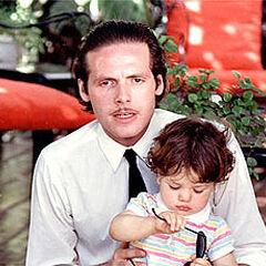 Roberto Alvarez en Angel Malo (Canal 13, 1986)