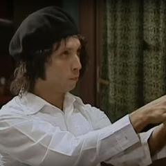 Alejandro Manzano en Hippie (Canal 13, 2004)