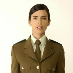 Sofía Valdebenito en Viuda Alegre (TVN, 2008)