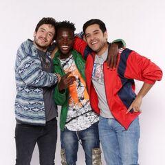 <center>Fosforito, Cedric y Tato</center>