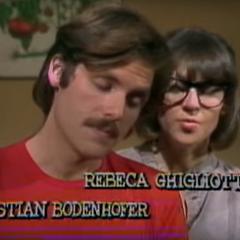 Rodrigo Dellany en Matrimonio de Papel (Canal 13, 1985) (Con Rebeca Ghigliotto)