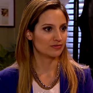 Bernardita Prieto en Buscando a María (Chilevisión, 2015)