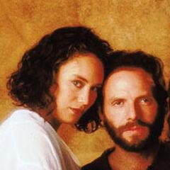 Lucas Pereira en Juegos de Fuego (TVN, 1995) (Con Viviana Rodriguez)