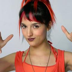 Tábata Rojas en Vivir con 10 (Chilevisión, 2007)