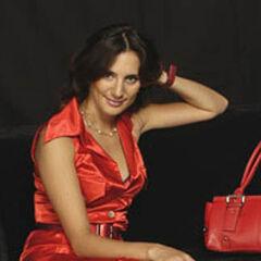 Emilia Pedraza en <a href=