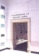 Columbarium of Radiant Dawn in the Courts of Remembrance