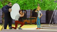 Adrien modelando