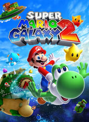 Super Mario Galaxy 2 Box Art