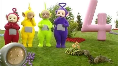 Teletubbies - Numbers - 4 (V1)