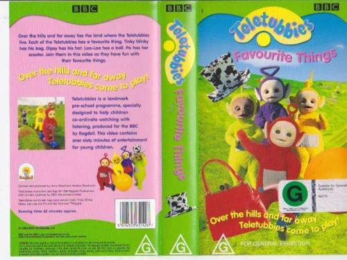 Talk:Favourite Things (VHS/DVD)