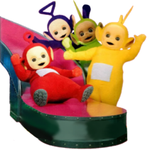 Teletubbies Slide Clipart