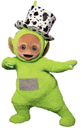 Dipsy with a hat