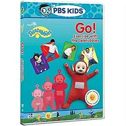 Go exercise with the Teletubbies US DVD