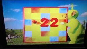 Teletubbies Advent Calendar No 22