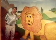 Jon Mitchell with the Lion and Bear