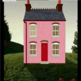 The Singing Man in the Pink House