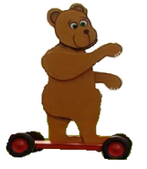 Bear transparent