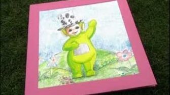 Teletubbies Dipsy's weather book