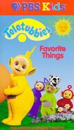 Teletubbies Favourite Things VHS