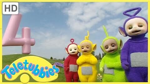 Teletubbies - Numbers Four (Series 3, Episode 65 Full HD Episode)