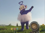 Tinky Winky Jumping