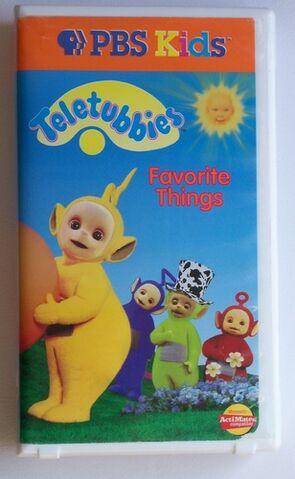 File:Teletubbies Favorite Things VHS.jpg