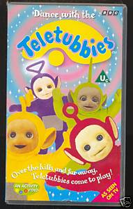 Dance with the Teletubbies (VHS) | Teletubbies Wiki | FANDOM powered