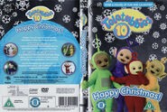 Teletubbies Happy Christmas DVD cover