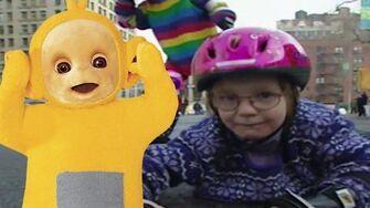 Teletubbies Rollerblading 162 Cartoons for Children