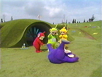 Tinky Winky Being Clumsy