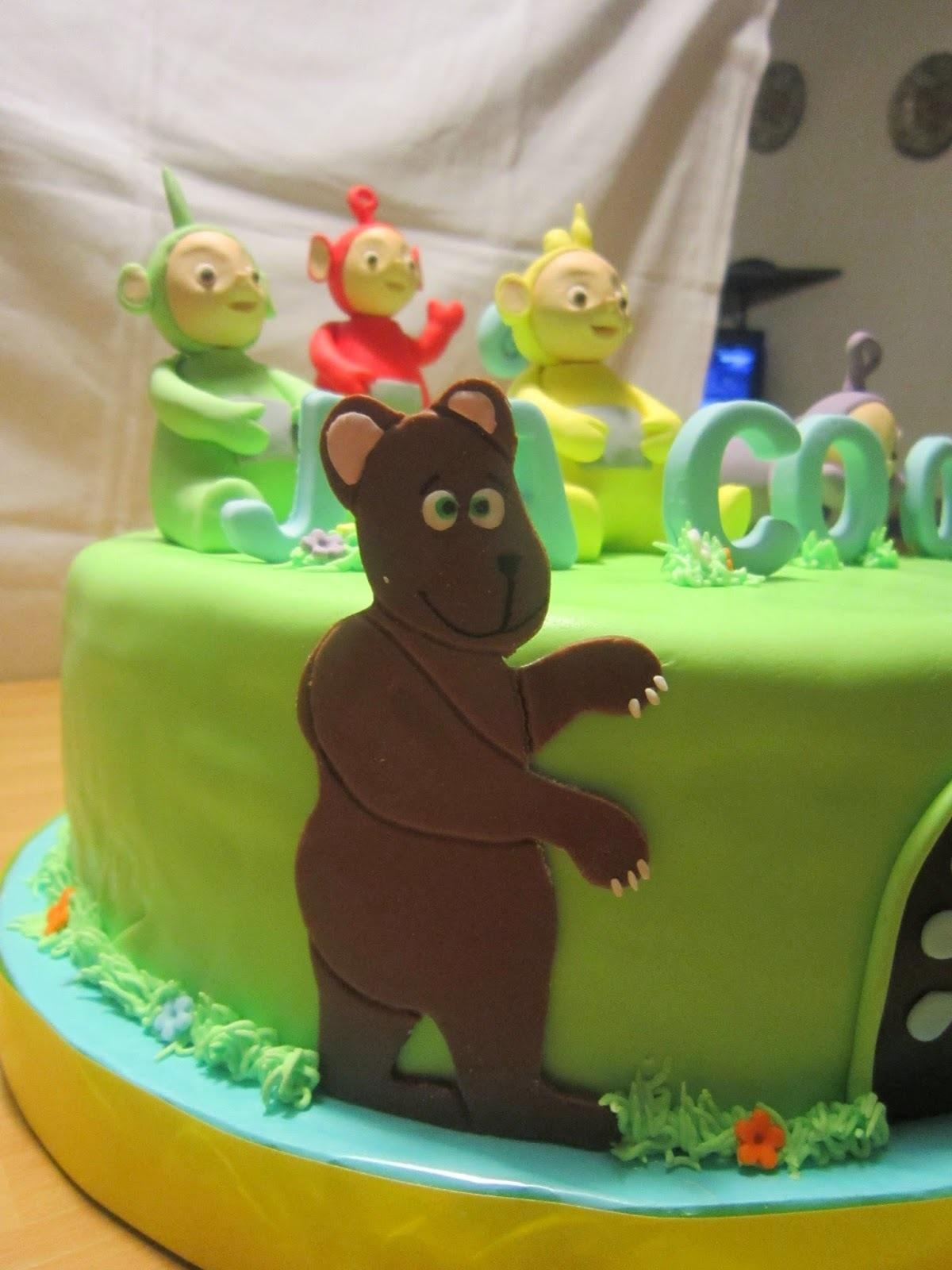 Dancing Bear Birthday Cake