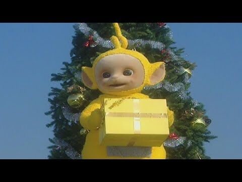 Teletubbies- Making Christmas Cards (1997)