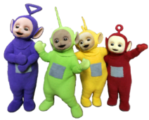 Teletubbies 2007 Clipart