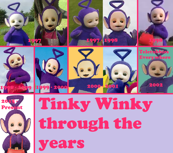 Tinky Winky In Favourite