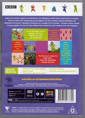 Teletubbies oooh aus DVD back