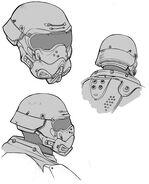 Mask helmet