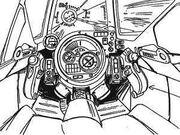 X-9 cockpit