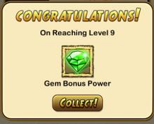 Level 9 notification