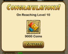 Level 10 notification