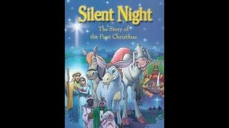 Original VHS Opening Silent Night - The Story Of The First Christmas (UK Retail Tape)