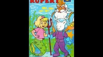 Original VHS Closing Rupert - Rupert's Undersea Adventure (UK Retail Tape)
