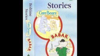 Original VHS Opening Bedtime Stories - Care Bears & Babar (UK Retail Tape)