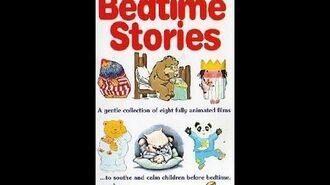 Original VHS Opening Bedtime Stories (UK Retail Tape)