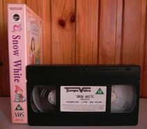 Snow White Based On Grimm Brothers Fairy Tale - Animated - Kids - Pal VHS 3